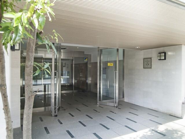 東急ドエルアルス中野(エントランス)