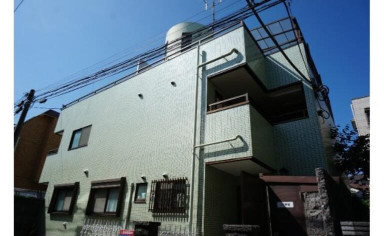 グリーンフォレスト上町(外観・エントランスホール・メールBOX)