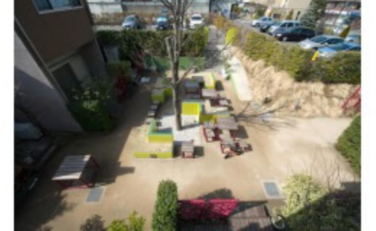 KINOWA(中庭・モデルルーム(家具・調度品は賃貸に含まれません))