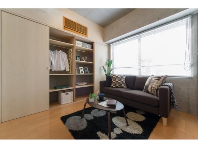 WELLTOWER(リビング5 ※家具、調度品は実際には設置されません。)