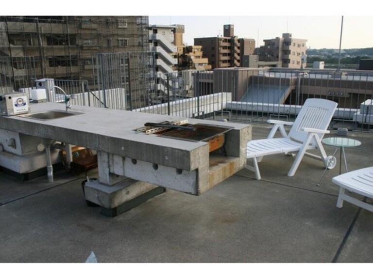 raffino tamagawa(屋上バーベキュー施設)
