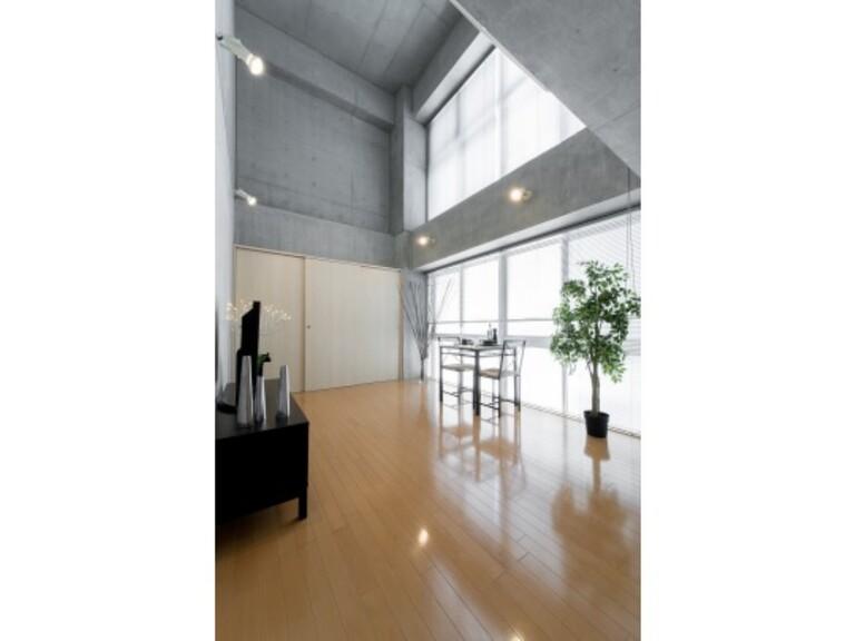 WELLTOWER(リビング1 ※家具、調度品は実際には設置されません。)