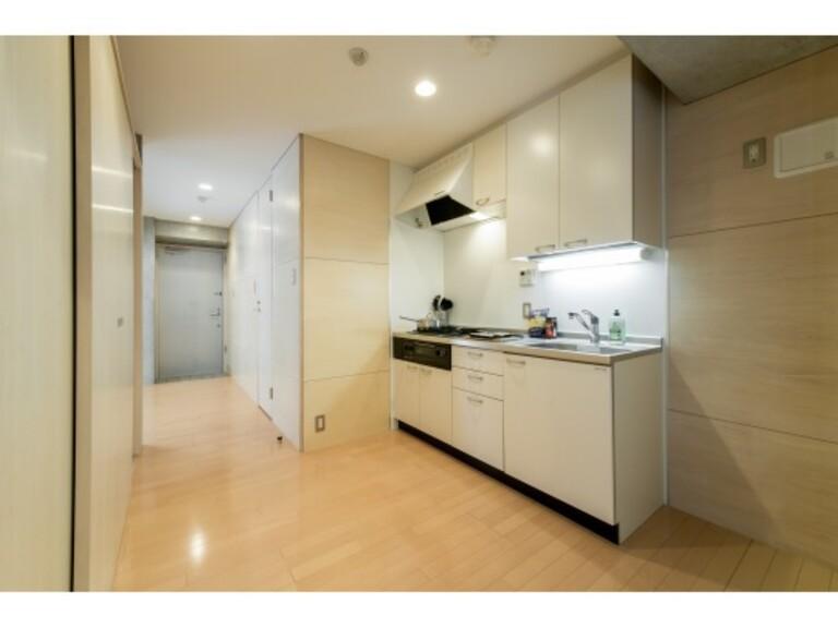 WELLTOWER(キッチン1 ※家具、調度品は実際には設置されません。)