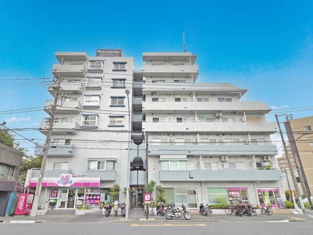 ライオンズマンションワイドリバー井土ヶ谷(外観)