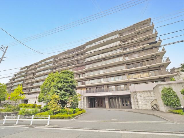 朝日マンション横浜蒔田(外観)