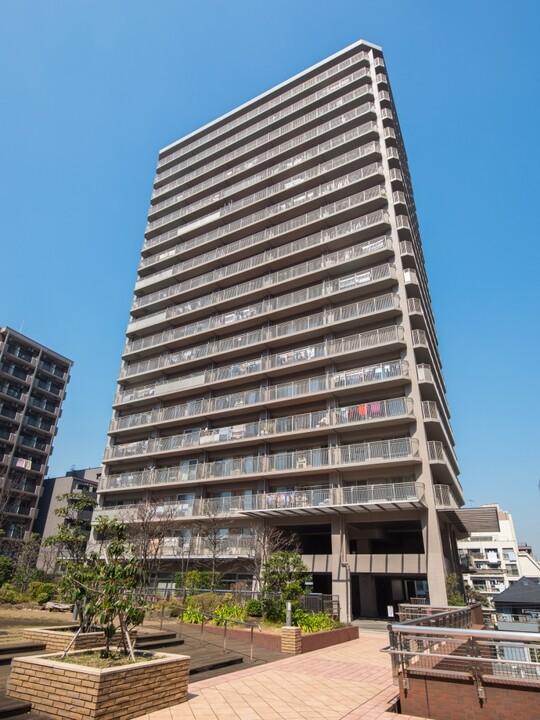 ヴィルクレール川崎タワー(外観)