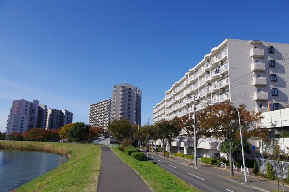 多賀城ロジュマンA棟(外観)