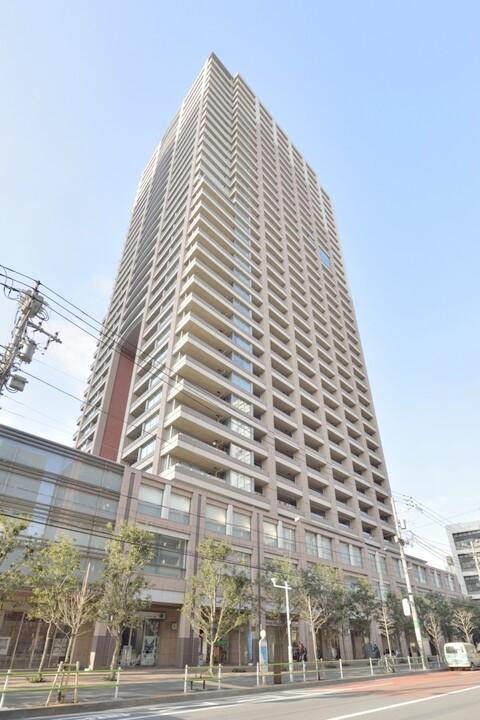 パークコート麻布十番ザ・タワータワー棟(外観)