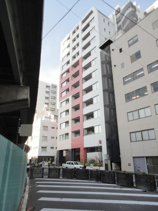 パークホームズセントラルシティ中央区湊(外観)