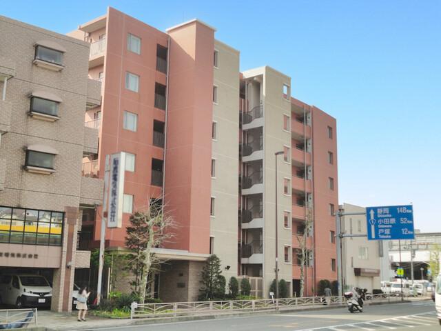 シティハウス三ツ沢上町(外観)