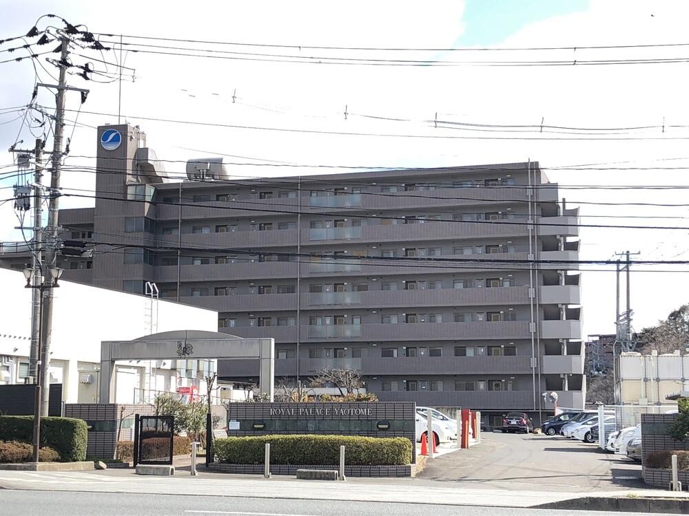 ロイヤルパレス八乙女(南側 共用廊下側)