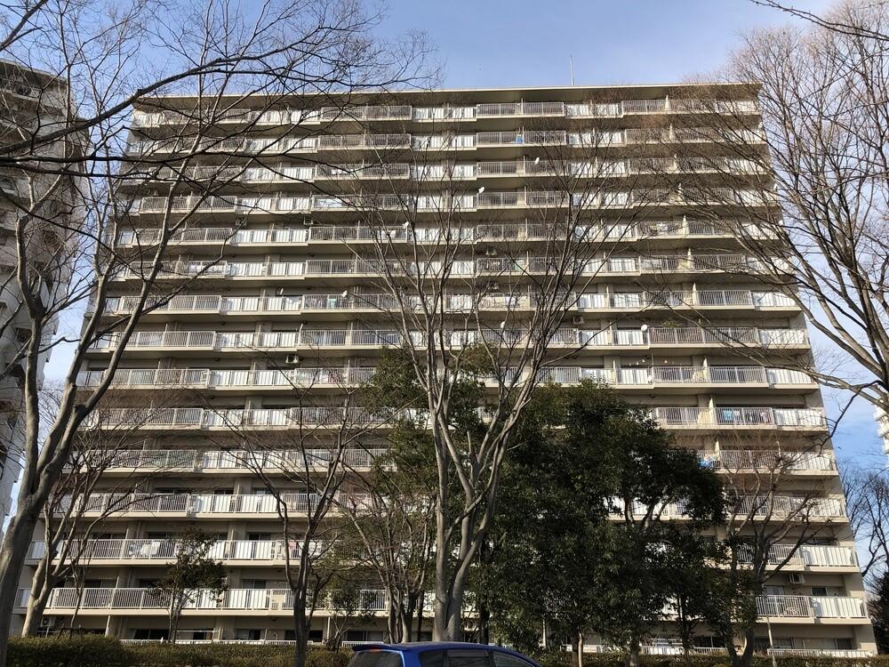 多賀城ロジュマンB棟(外観 B棟7階)