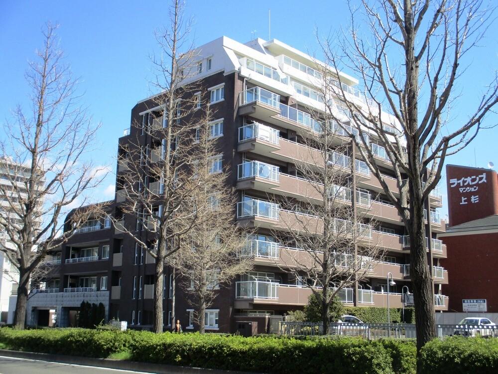 シティハウス上杉山通(南向きです♪マンション向かいは上杉山通小学校です。)