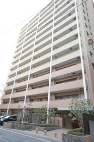 ザ・フロント湘南藤沢(外観です。オートロックの分譲マンションです)
