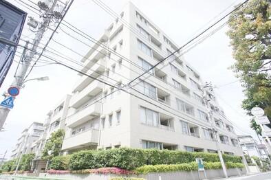 多摩川ガーデンハウス(7階建てマンションです )