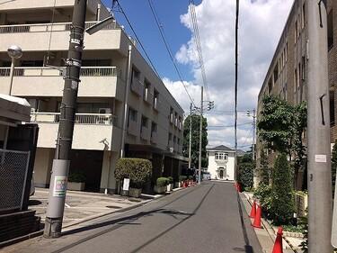 白金武蔵野コーポラス(外観)